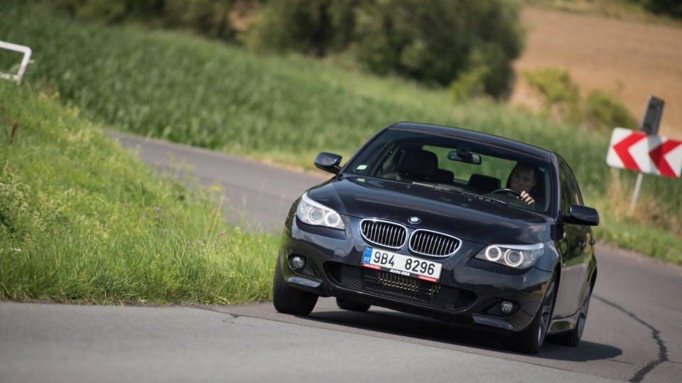 BMW 530i E60 jízda 20