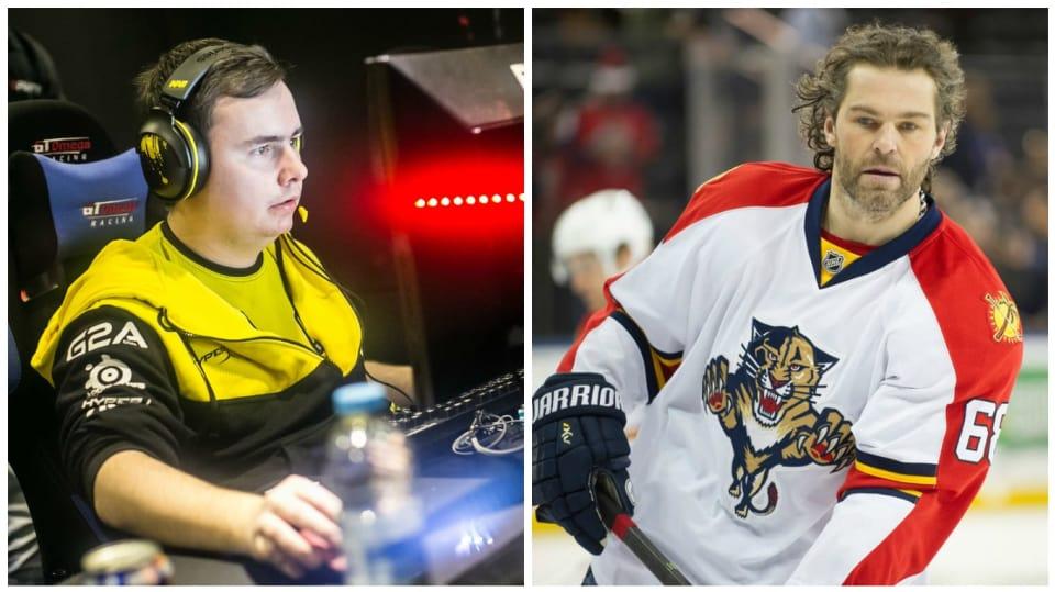 Jeden je legendou sportu, druhý útočí na podobnou pozici v e-sportu...
