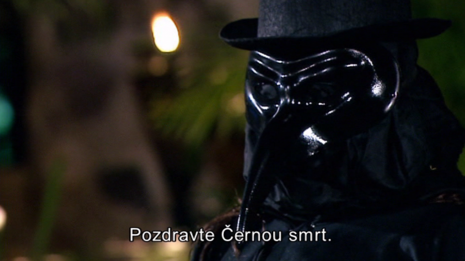 Kdo se skrývá za maskou Černé smrti?