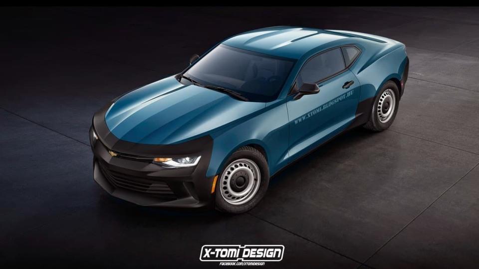 Netradiční Chevrolet Camaro
