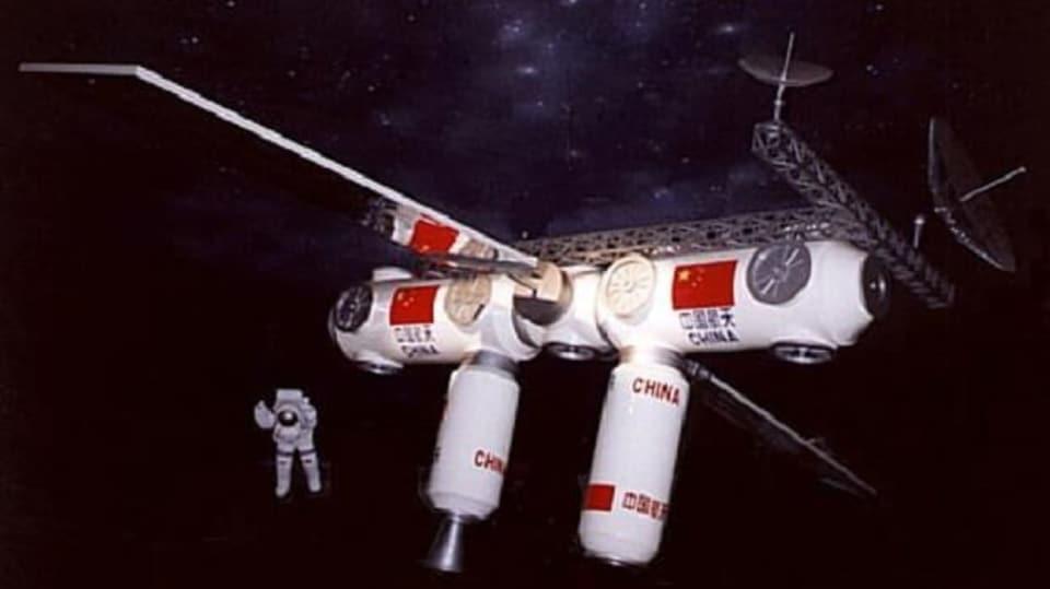 Čínský satelit