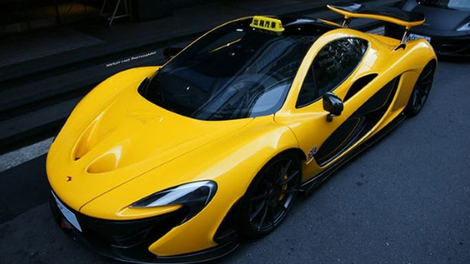 Taxík snů: McLaren P1 - Obrázek 1