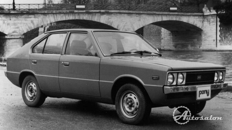 Hyundai Pony 1974 3