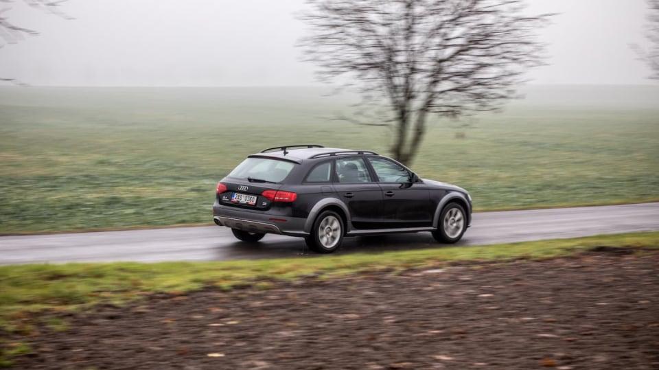 Audi A4 Allroad 2.0 TDI CR jízda 9