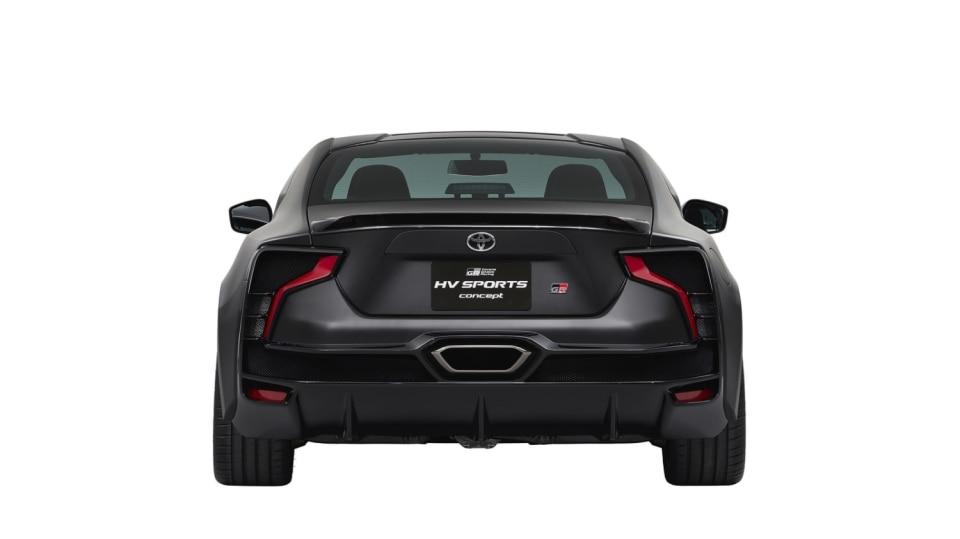Hybridní sporťák Toyota GR HV Sports Concept. 7
