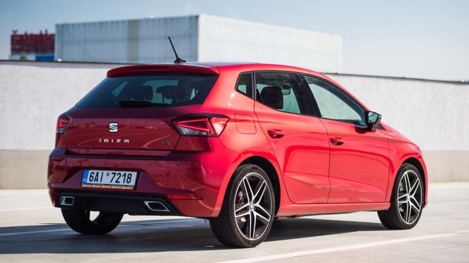 SEAT Ibiza FR 1.0 TSI exteriér 6