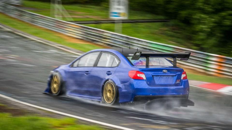 Speciál Subaru pro rekord na Nürburgringu 3