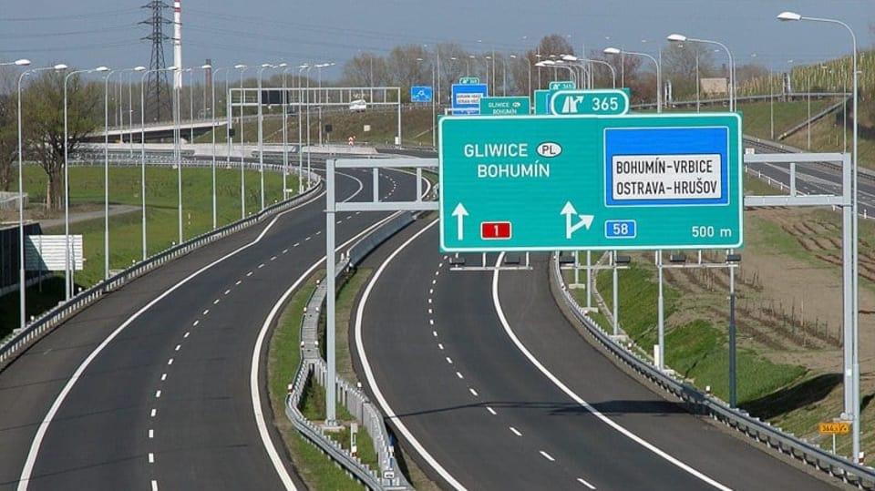 Výsledek obrázku pro dálnice ostrava