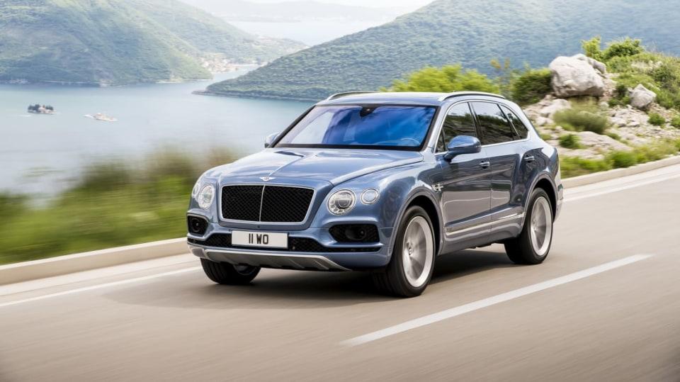 9. Bentley Bentayga
