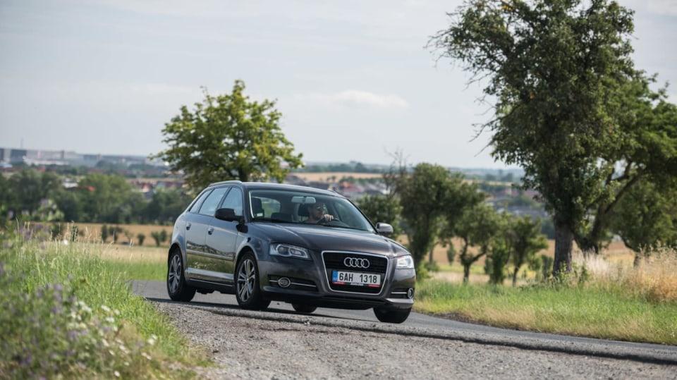 I s naftovým Audi A3 se solidně svezete. 7