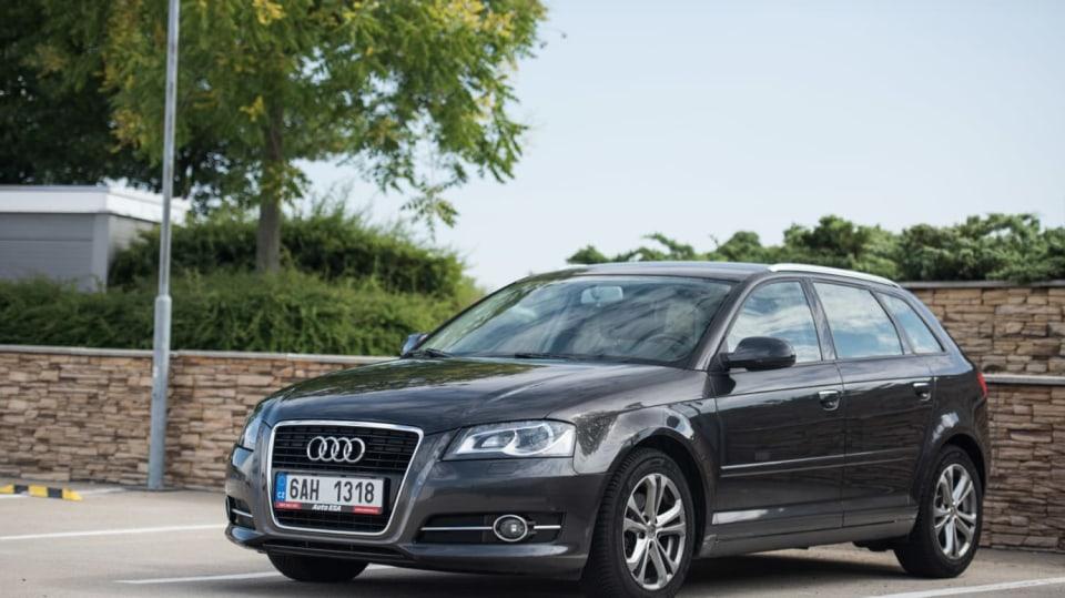 Audi A3 vypadá dobře i po šesti letech a 160 000 kilometrů. 2