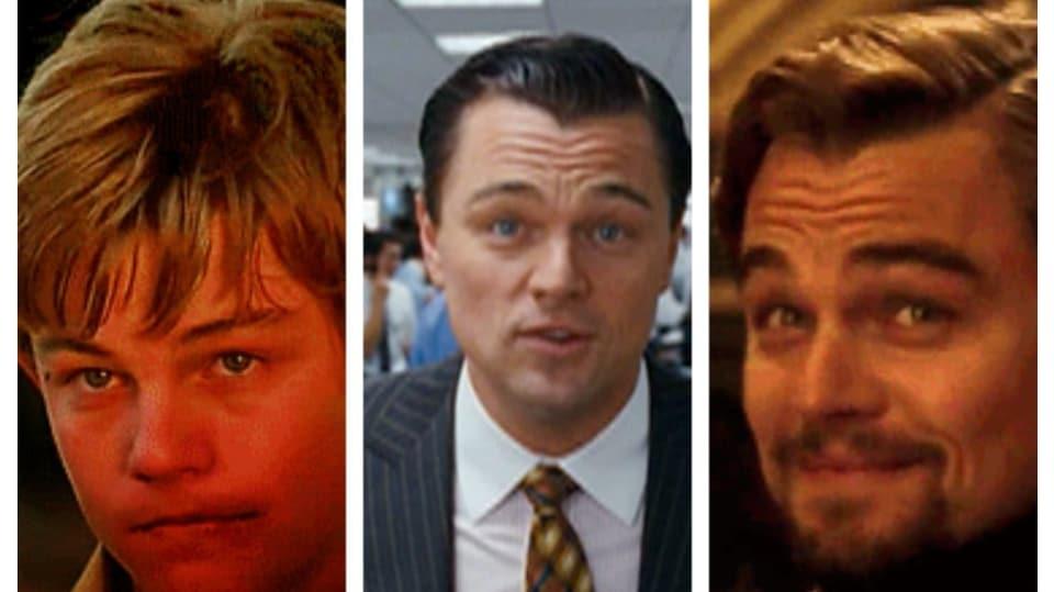 DiCaprio - koláž