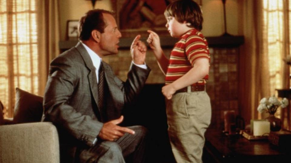 Kid a Bruce Willis
