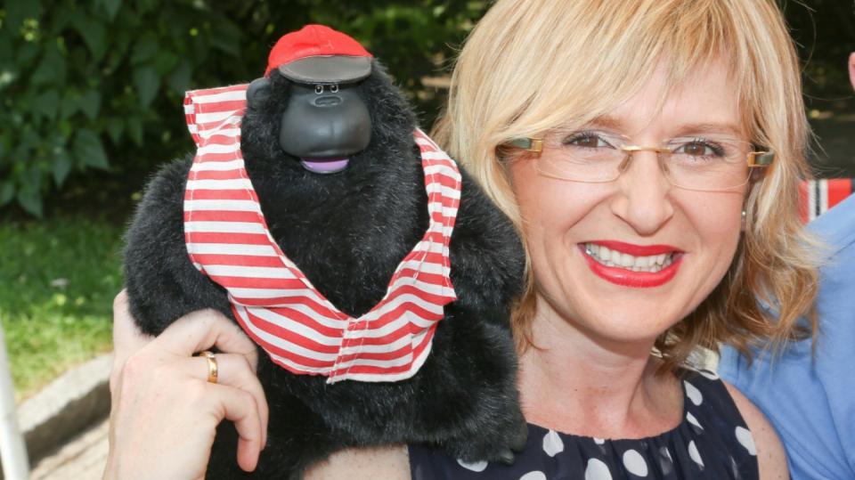 Štěpánka Duchková ulovila na bleším trhu hračku opice