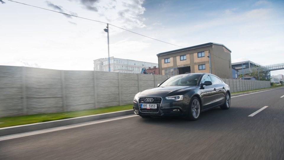 Audi A5 Sportback 2.0 TDI jízda 12