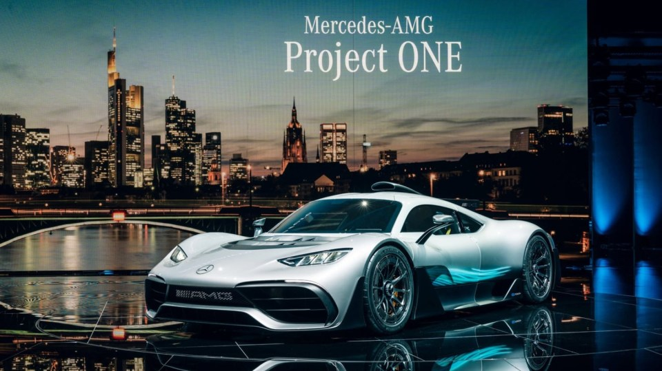 Mercedes-AMG Project ONE 8