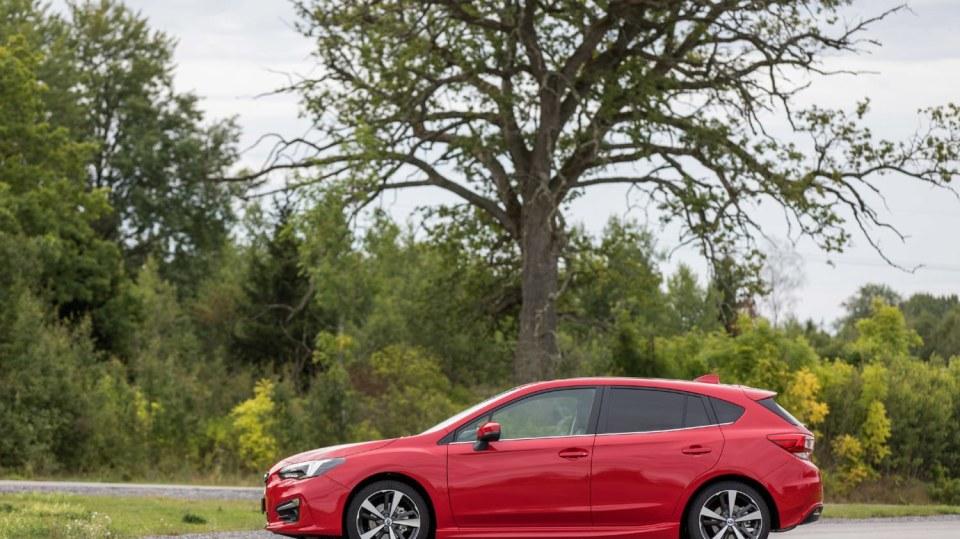 Nové Subaru Impreza je prostorný hatchback. 9