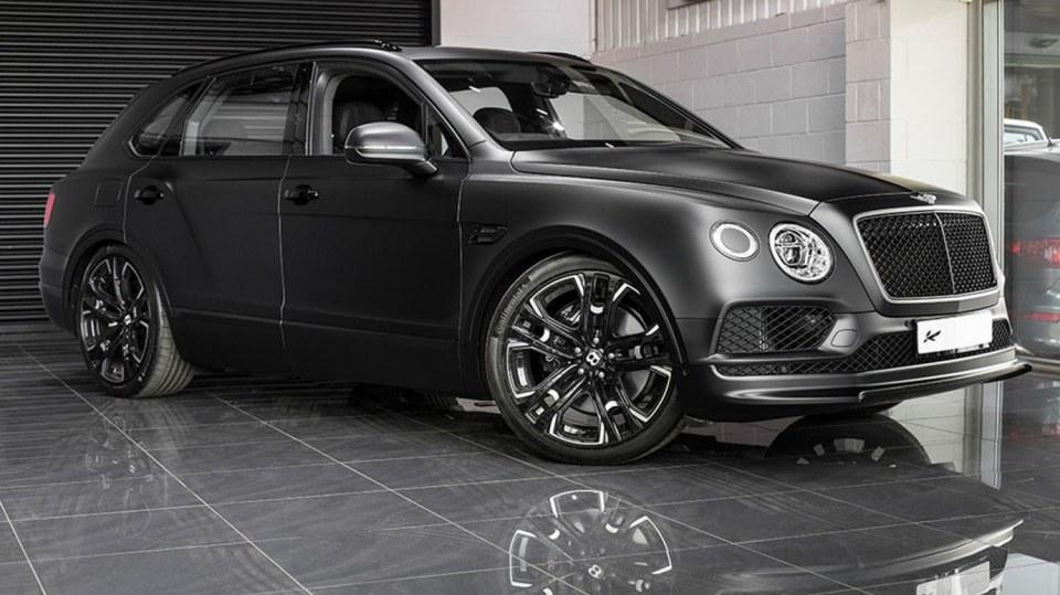 Bentley Bentayga od Kahn Design 1