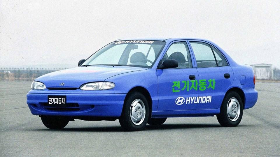 Hyundai Accent All-Electric