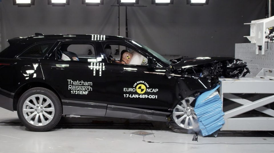 Range Rover Velar Euro NCAP 5