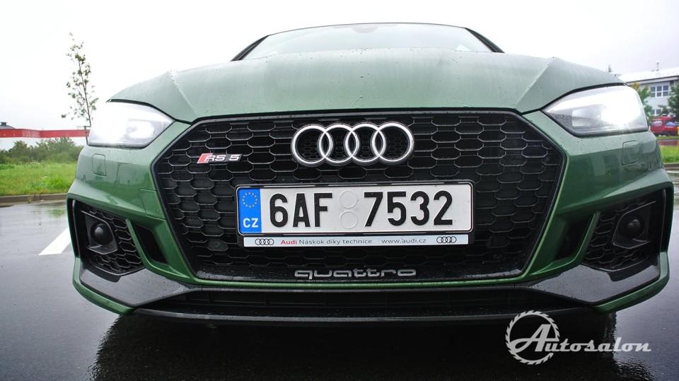 Audi RS5 - zelená, kterou budou zelení nenávidět 2
