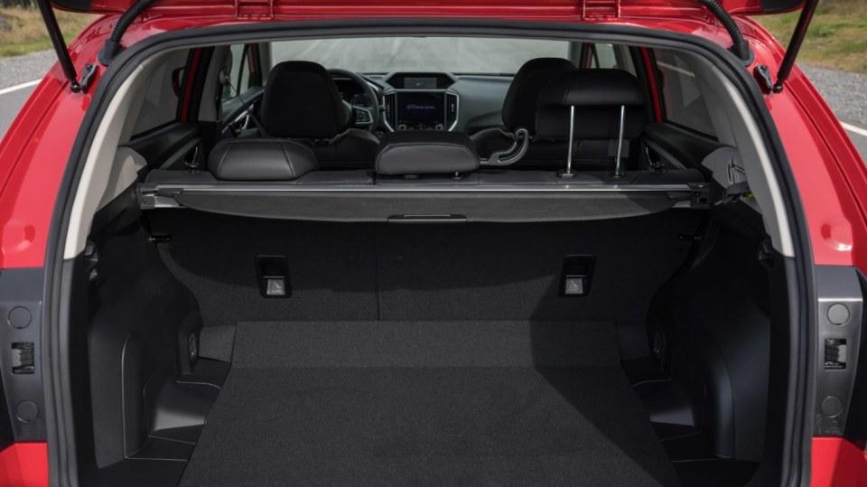 Nové Subaru Impreza je prostorný hatchback. 17