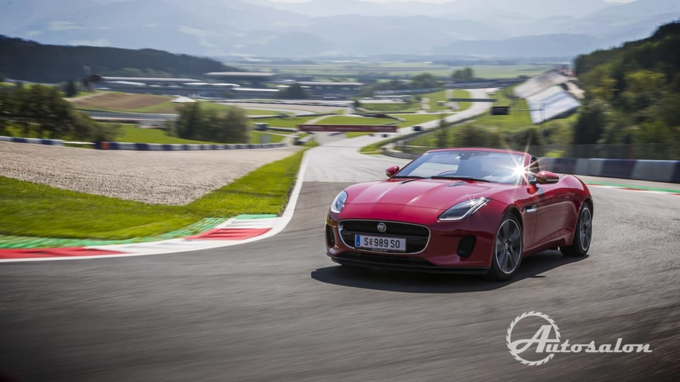 Jaguar - palba na okruhu 10