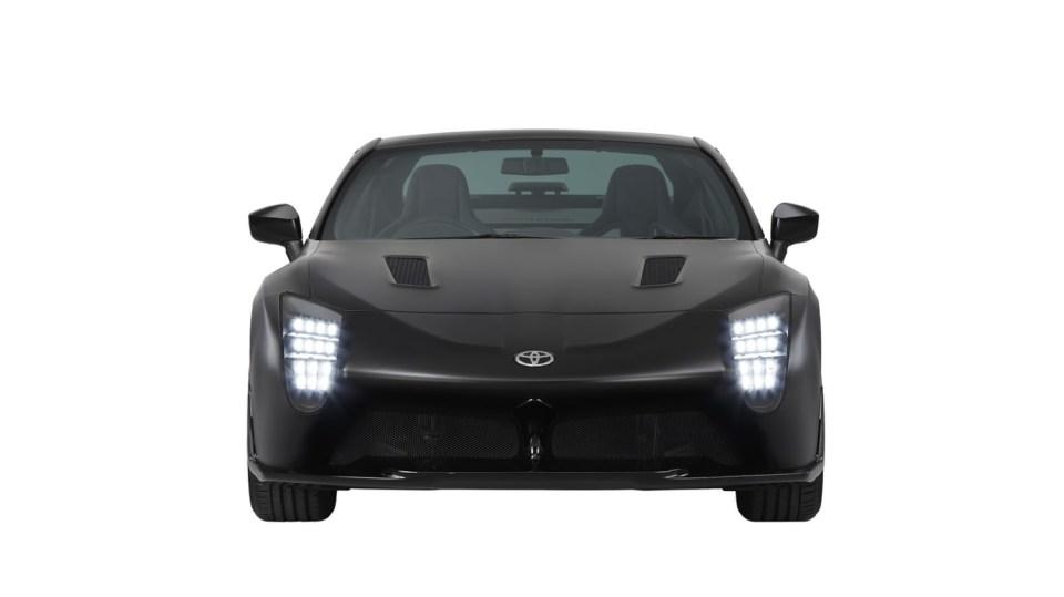 Hybridní sporťák Toyota GR HV Sports Concept. 5