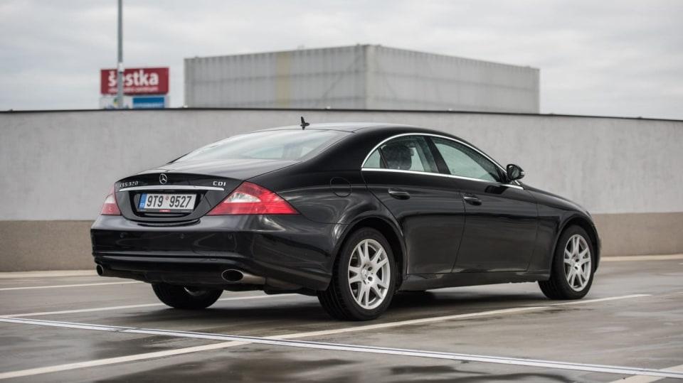 Mercedes-Benz CLS 320 CDI exteriér 7