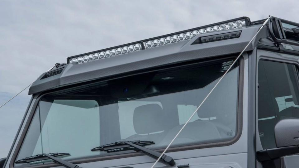 Mercedes G500 4x4² upravený od Brabusu 7