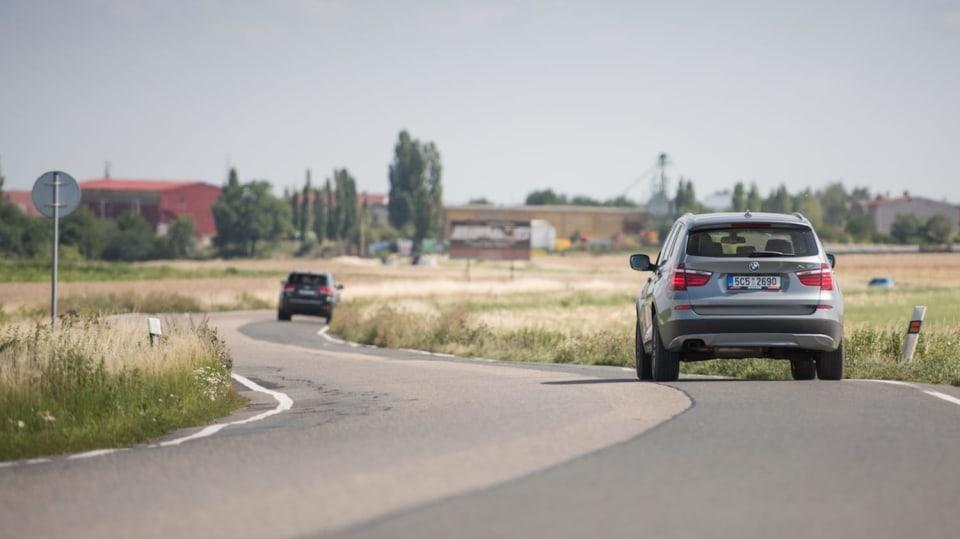 BMW X3 xDrive20d jízda 18