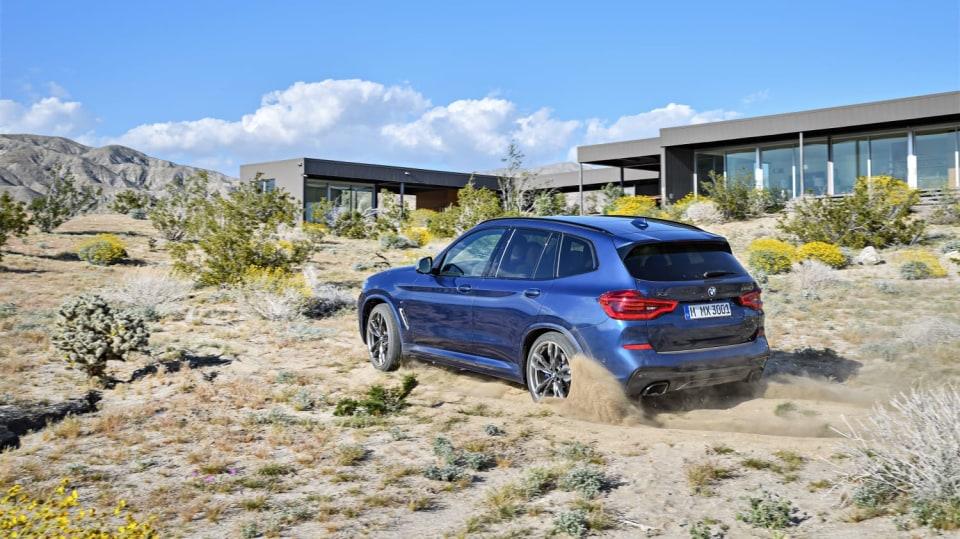 Nové BMW X3 8