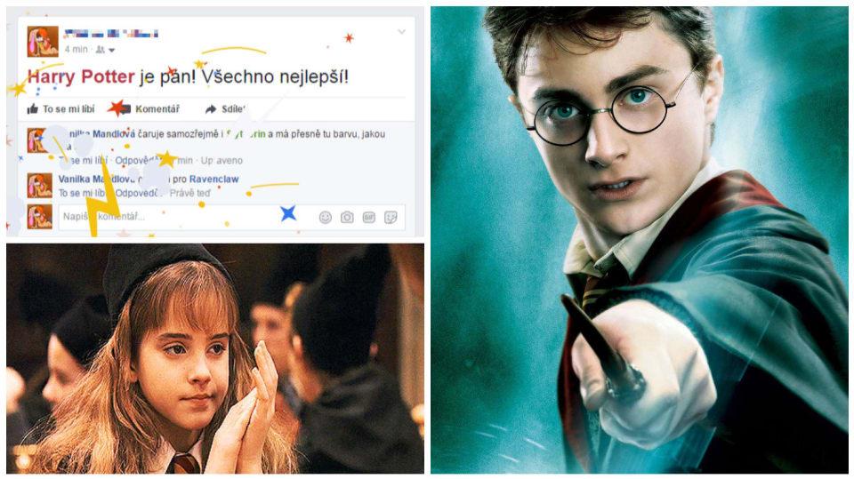 Facebook si připravil easter egg na výročí Harryho Pottera
