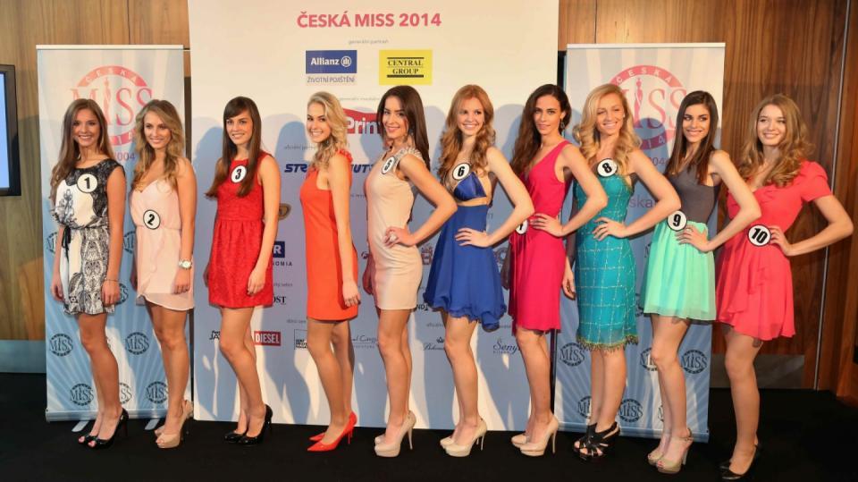 Finalistky České Miss před odletem na Mauricius - Obrázek 1