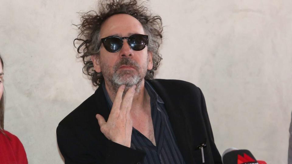 Tim Burton je typický excentrický umělec
