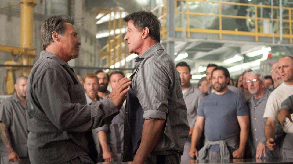 Akční hrdinové: Arnold Schwarzenegger a Sylvestr Stallone