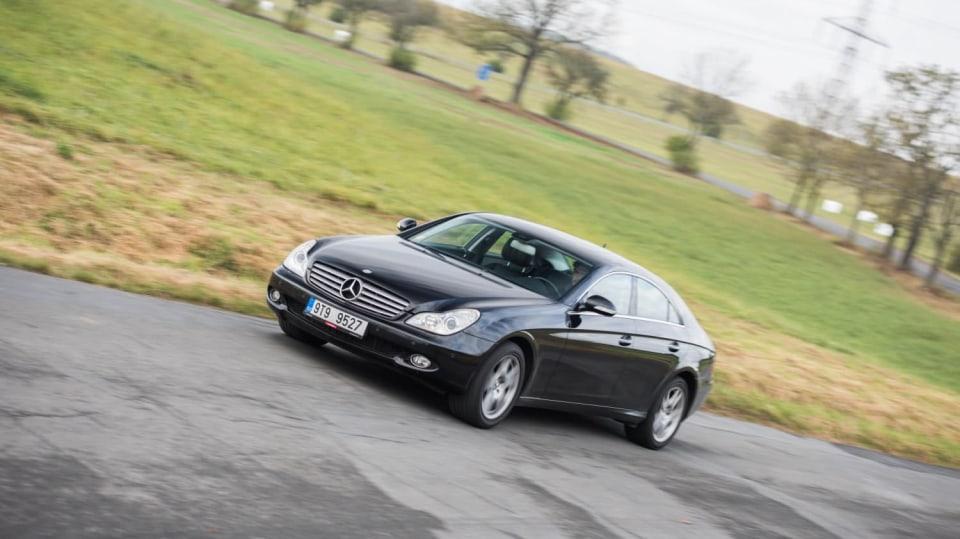 Mercedes-Benz CLS 320 CDI jízda 5