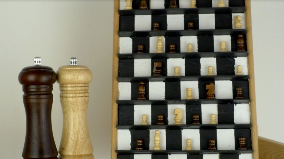 Šachový obraz na stěnu: Super dekorace pro milovníky královské hry