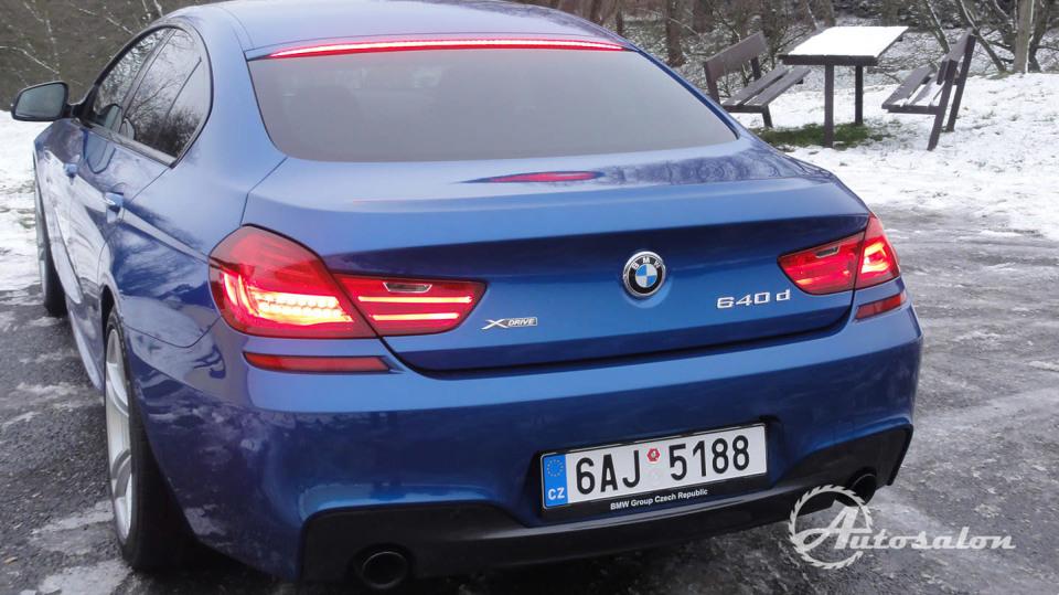 BMW 640d Gran Coupé 12