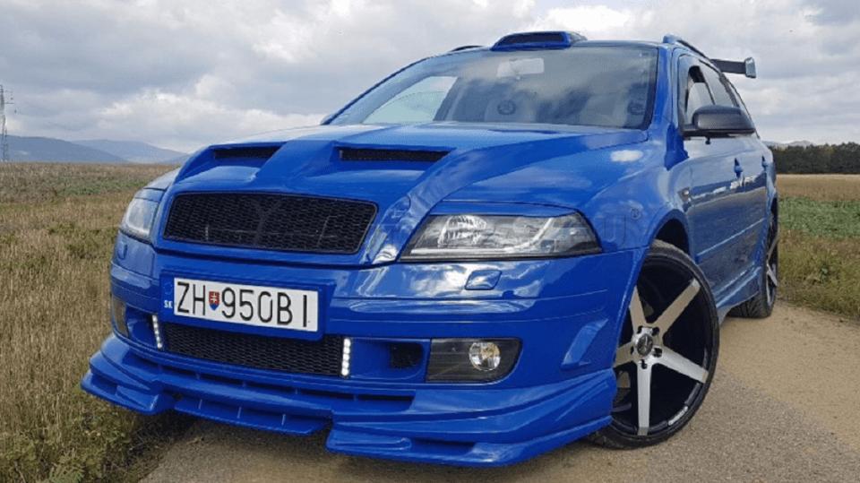 Tuningová Škoda Octavia ze Slovenska 12