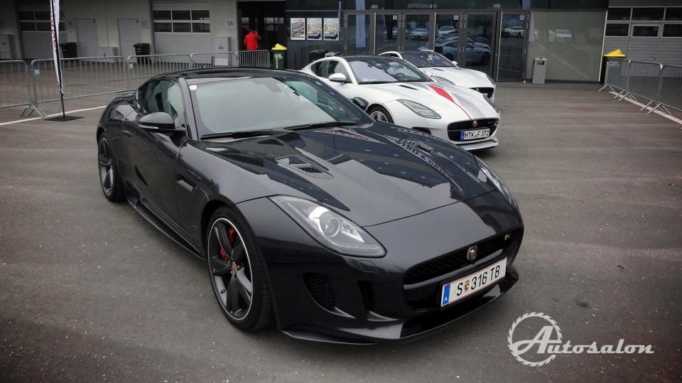 Jaguar - palba na okruhu 1