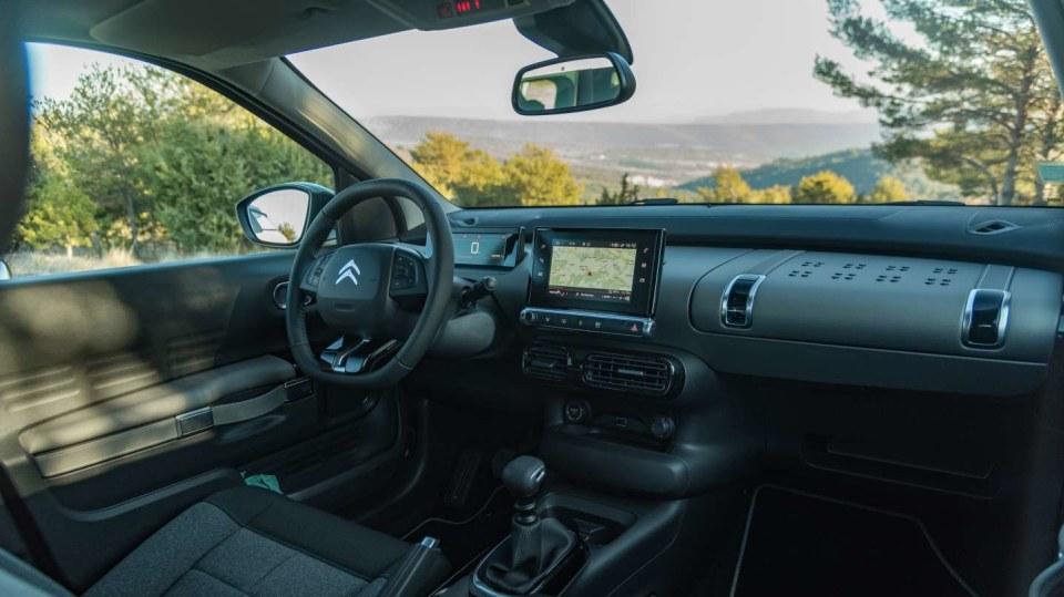 Citroën C4 Cactus interiér