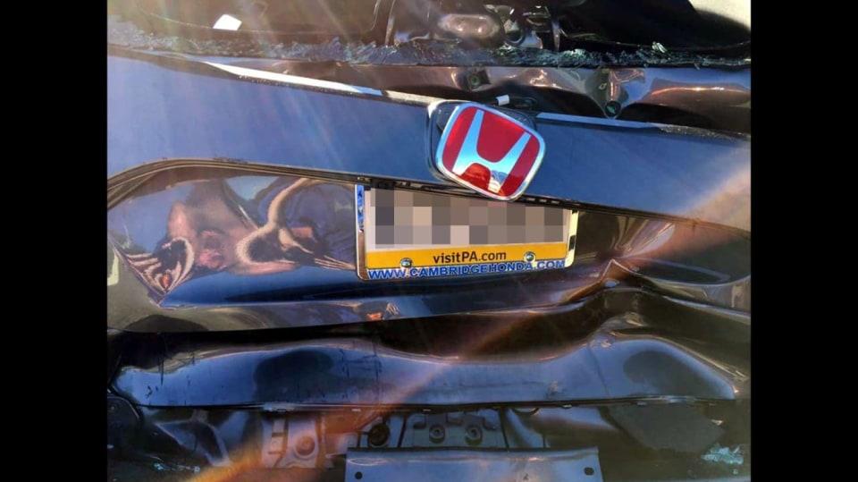 Honda Civic Type-R nehoda 2