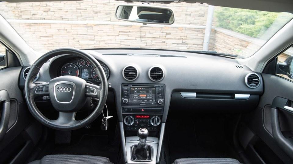 Audi A3 vypadá dobře i po šesti letech a 160 000 kilometrů. 9