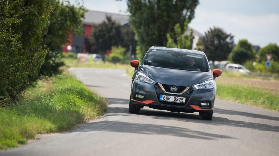 Nissan Micra 0.9 IG-T jízda 6