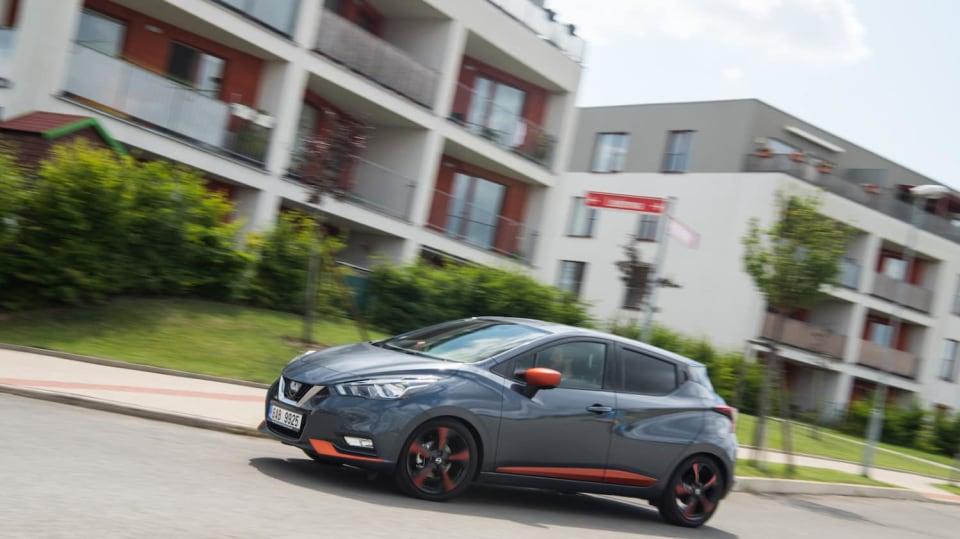 Nissan Micra 0.9 IG-T jízda 5
