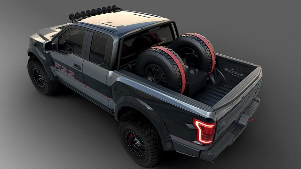 Ford postavil extrémní Raptor inspirovaný neviditelnou stíhačkou 2