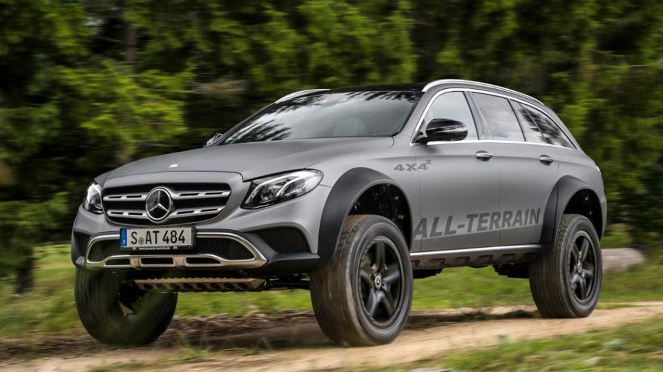 Mercedes E All-Terrain 4x4^2 1