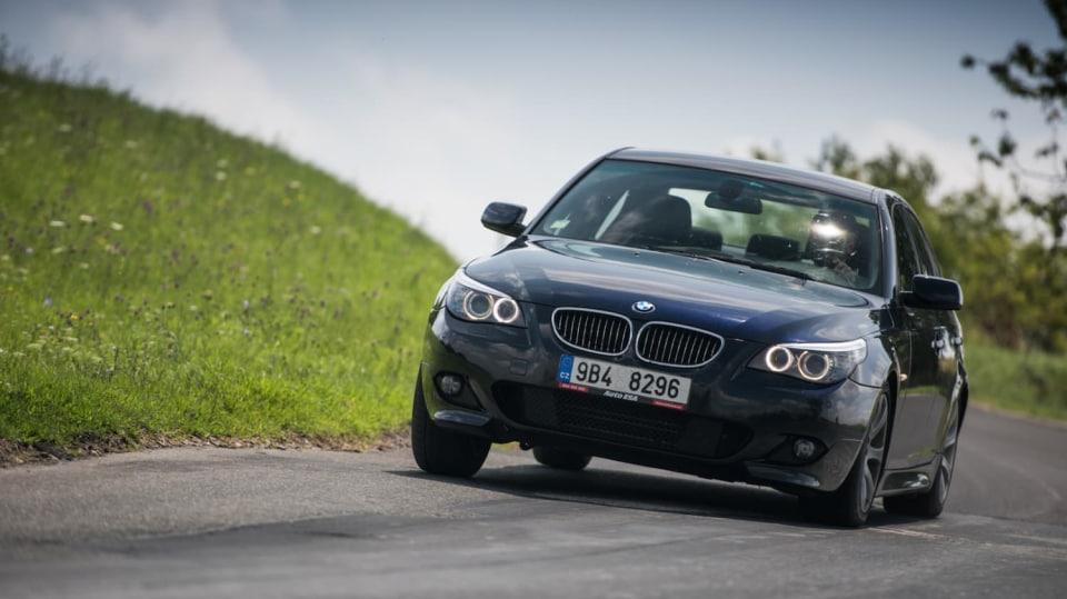 BMW 530i E60 jízda 6