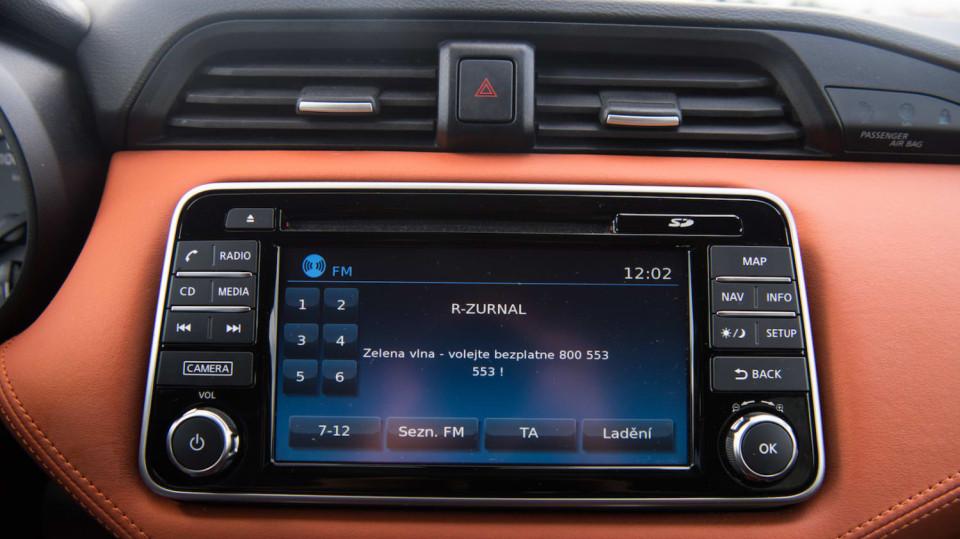 Nissan Micra 0.9 IG-T interiér 6
